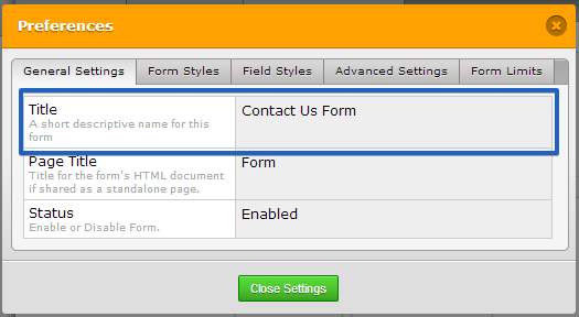 how to edit or customize product order form template