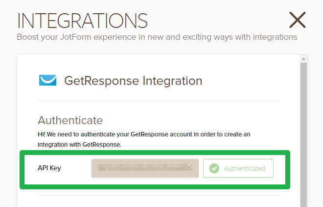 how to integrate form with getresponsegetresponse loads all the fields from your getresponse forms just please click add new field button to map another field otherwise, click the complete
